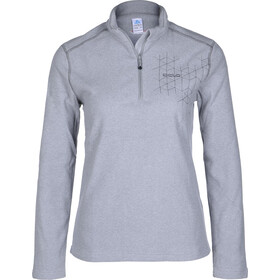 Odlo GOD Jul 1/2 Zip Fleece Pullover Damen grey melange